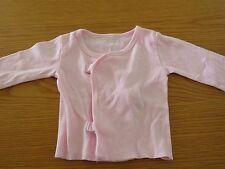 VGC Soft Calvin Klein Baby Pink Cardigan Size 0-3 mths - Cotton