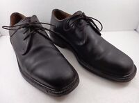 Cole Haan Mens 8.5 M Black Leather Oxford Shoes