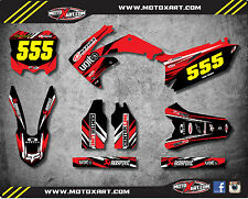 Honda CRF 450 - 2009 / 2012 Full  Custom Graphic Kit DIGGER Style stickers