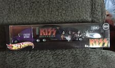 Hot Wheels  KISS Destroyer Purple Tour Hauler Truck by Mattel Sealed  NOS