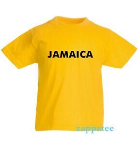 Kids Jamaica T Shirt - Children's Boys or girls Jamaican tee