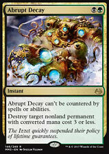 MTG ABRUPT DECAY FOIL EXC - DETERIORAMENTO IMPROVVISO - MMA3 - MAGIC