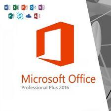 Microsoft Office 2016 Professional Plus / 32 & 64 Bit / Vollversion / Lizenz Key