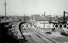 1960 Sydenham NEW BANKSTOWN PLATFORM CONSTRUCTION Photo  NSWGR POSTAGE DISCOUNT