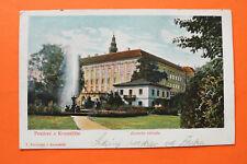 Tschechien CZ AK Pozdrav z Kromerize Kroměříž Rattay 1902 Zamecka zahrada Haus