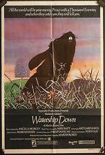 Watership Down - original 1sh poster
