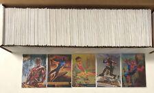 2017 Fleer Ultra Spider-Man Silver Foil Board Parallel Achievements Complete Set