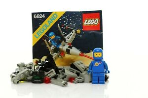 Lego Classic Space Set 6824 Space Dart 100% complete + instructions vintage 1984