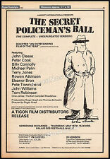 THE SECRET POLICEMAN'S BALL__Original 1980 Cannes Trade AD / poster__JOHN CLEESE