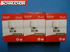 3 Danfoss RA/VL 2950 Fühlerelement 013G2950 26mm Kopf Thermostatkopf Thermostat