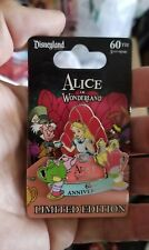 Alice in Wonderland 60th Anniversary Disney pin Le 2000