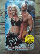 WWE RAW TOPPS COLLECTOR'S TIN CHRIS BENOIT with DOGTAG Payback Cards SEALED