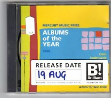 (GN80) Various Artists, 1996 Mercury Music Prize - 1996 CD