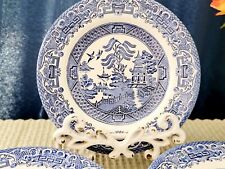 """Blue Willow 7"""" inch Salad Plates Set of 8"""