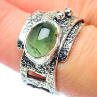 Prehnite 925 Sterling Silver Ring Size 7.25 Ana Co Jewelry R38520F