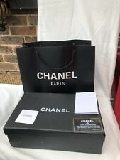 Chanel Shoe Box And Carry bag