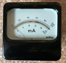 Galvanomètre Métrix idéal pour lampemetre ancien Métrix, neuf jamais servi