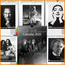 Apple THINK DIFFERENT Wandkalender 2020 - An alle, die anders denken
