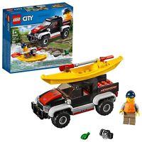 LEGO City Great Vehicles Kayak Adventure 60240 Building Kit (84 Piece)