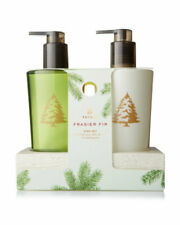 Thymes Frasier Fir Sink Set Hand Wash and Hand Lotion New