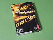 Driv3r /  Driver 3 PC DVD-ROM Game - Atari *DISCS SEALED WITHIN BOX* US Release