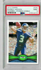 2012 Topps Russell Wilson Passing Stands Visible PSA 9