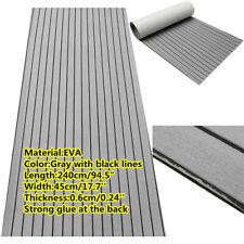 "240cm/94.5"" EVA Foam Teak Sheet Carpet Pad Mat Protector For boat Marine Yacht"