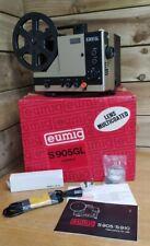 Eumig S905GL Super 8 Film & Sound Projector Cine Film - Boxed & Accessories