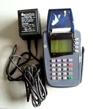 Verifone Omni 3200Se Credit Card Reader Terminal with Power Supply