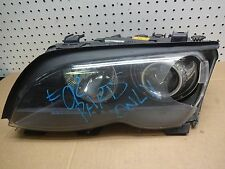 2002-2005 BMW 3 SERIES E46 325i 330i ZKW LH XENON HEADLIGHT OEM FOR PART ONLY