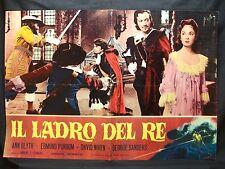 FOTOBUSTA CINEMA - IL LADRO DEL RE - ANN BLYTH - 1955 - AVVENTURA - 03