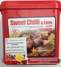 Middleton Foods Sweet Chilli & Lime 2.5kg - Red Tub Glaze - Ideal For Butchers
