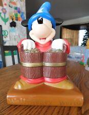Walt Disney World Sorcerer Mickey PVC Piggy Coin Bank