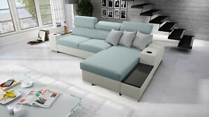 Brand New corner sofa bed with storage Perseo I maxi