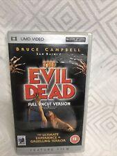 The Evil Dead PSP UMD PlayStation Video Game UK Release