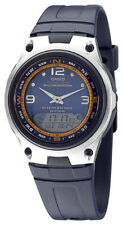Casio Men's Fishing Gear Analog Digital 50m Resin Blue Watch AW82-2AV