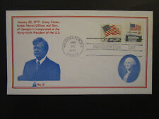 United States 1977 Carter Inauguaration Cover / No 2 Cachet (II) - Z4473