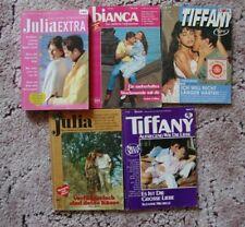 8 x Liebesroman in 5 Heften Cora Roman Julia extra Bianca Tiffany