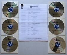 The BBC's BEATLES Tapes 6xCD RADIO SHOW w/ Cue Sheet Westwood One #90-21
