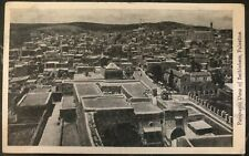 1934 Bethlehem Palestine RPPC Postcard Cover To Venice Ca USA Panoramic View