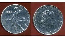 ITALIE   ITALY   50 lire  1994 ( petite piece)  ( bis )