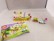 Lego Friends Lemonade Stand Set 41027 Complete