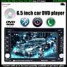 6.5'' Car Bluetooth  Radio DVD/CD Player FM/USB/SD/EQ/TV/AV 2 DIN Touch Screen