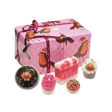 Bomb Cosmetics Wrapped Christmas Xmas Gift Pack Set Handmade Soap Bath Bomb