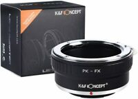 K&F Concept Lens Adapter for Pentax K PK Lens to Fuji X-Series X FX Camera Body