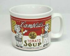 1999 Westwood CAMPBELLS KIDS First RED & WHITE Label SOUP MUG 14 oz Oversize Cup