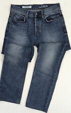 GAP Men's Jeans Size 30 32 Authentic Skinny Mid Wash Blue 1969