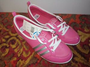 Adidas Neo Piona pink low shoes ballerina sneaker trainers  size 6