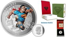 2015 Silver Iconic Comic Book Covers Superman Action Comics #1 (2011) 1 oz Coin