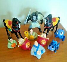 1998 McDonalds Mulan Disney Toys Lot of 10